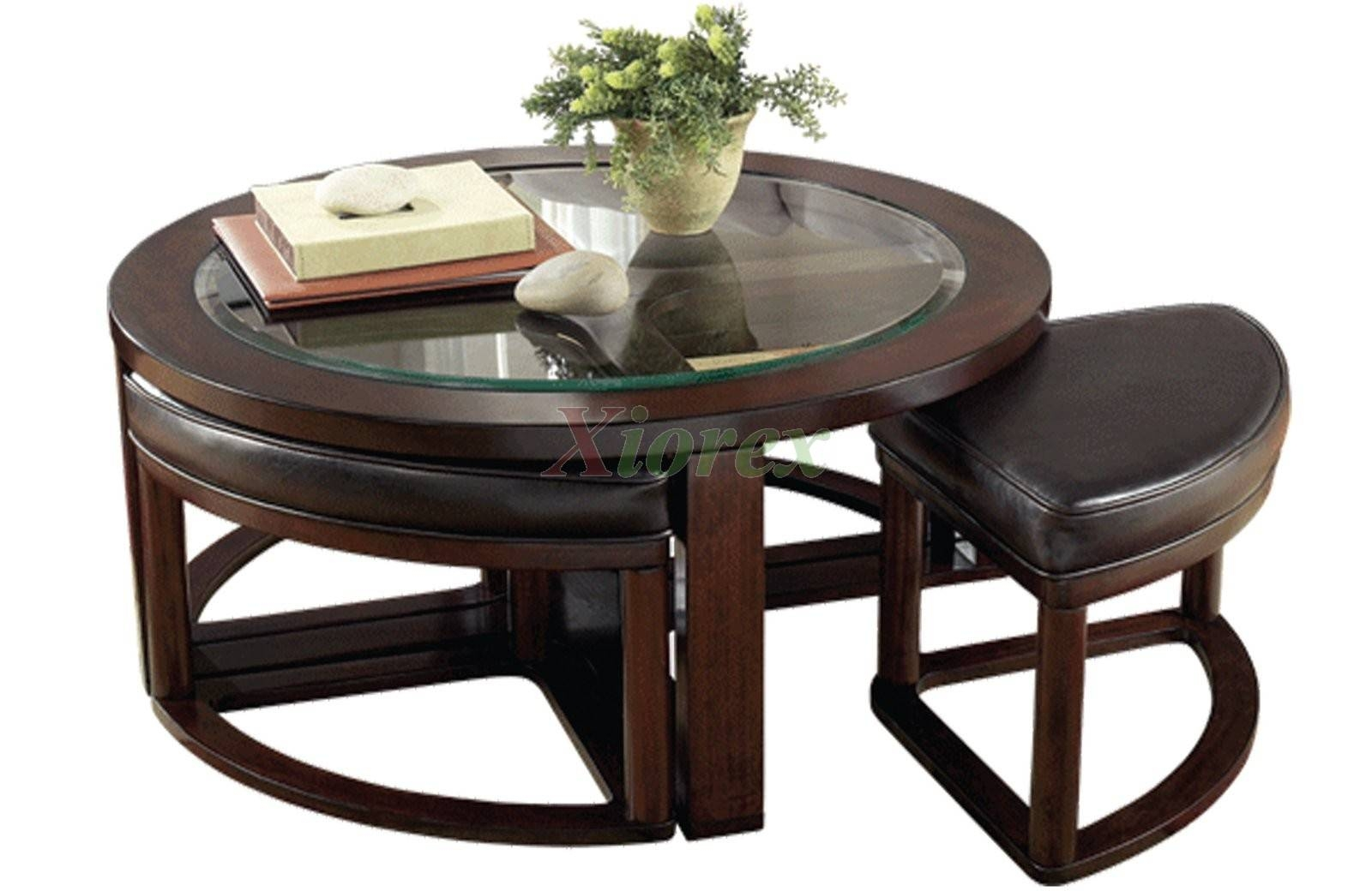 Wooden Coffee Table With 4 Stools - Coffee Addicts pertaining to Ethnic Coffee Tables (Image 30 of 30)
