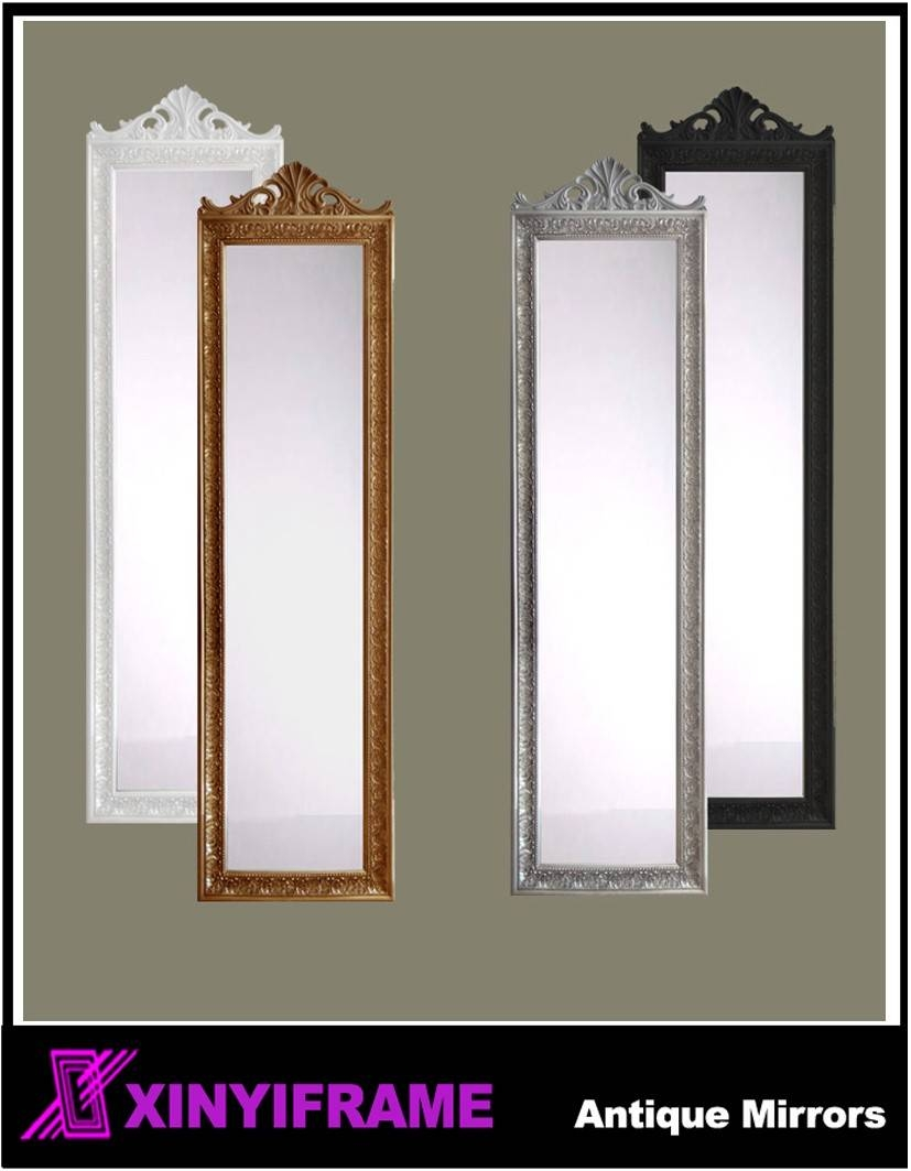 Wooden Frame Dressing Mirror Lambeth Shabby Chic Cream Solid Wood throughout Shabby Chic Cream Mirrors (Image 25 of 25)