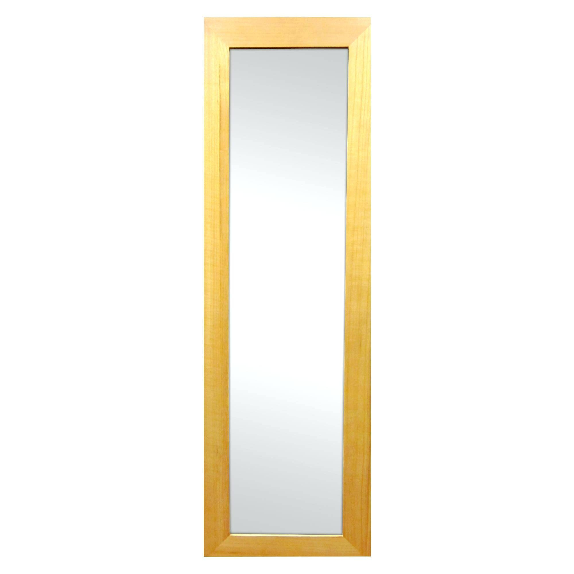 Wooden Full Length Mirroroak Framed Wall Mirror Oak – Shopwiz within Oak Framed Wall Mirrors (Image 25 of 25)