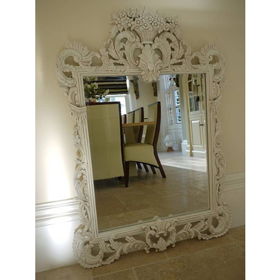 Wooden Large Mirrors|Ornate Mirrors|Mirrors Uk – Candle And Blue With Extra Large Ornate Mirrors (View 25 of 25)