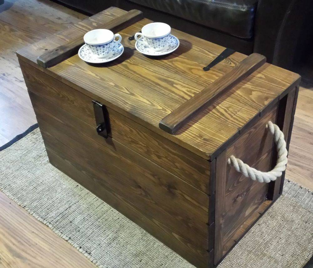 Wooden Storage Chest With Lock | Dors And Windows Decoration pertaining to Blanket Box Coffee Tables (Image 30 of 30)