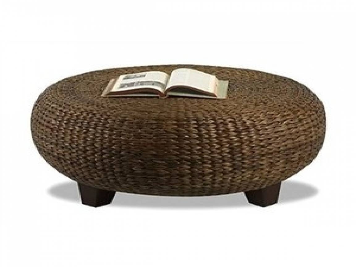 Hippo Coffee Table 30 best collection of round woven coffee tables