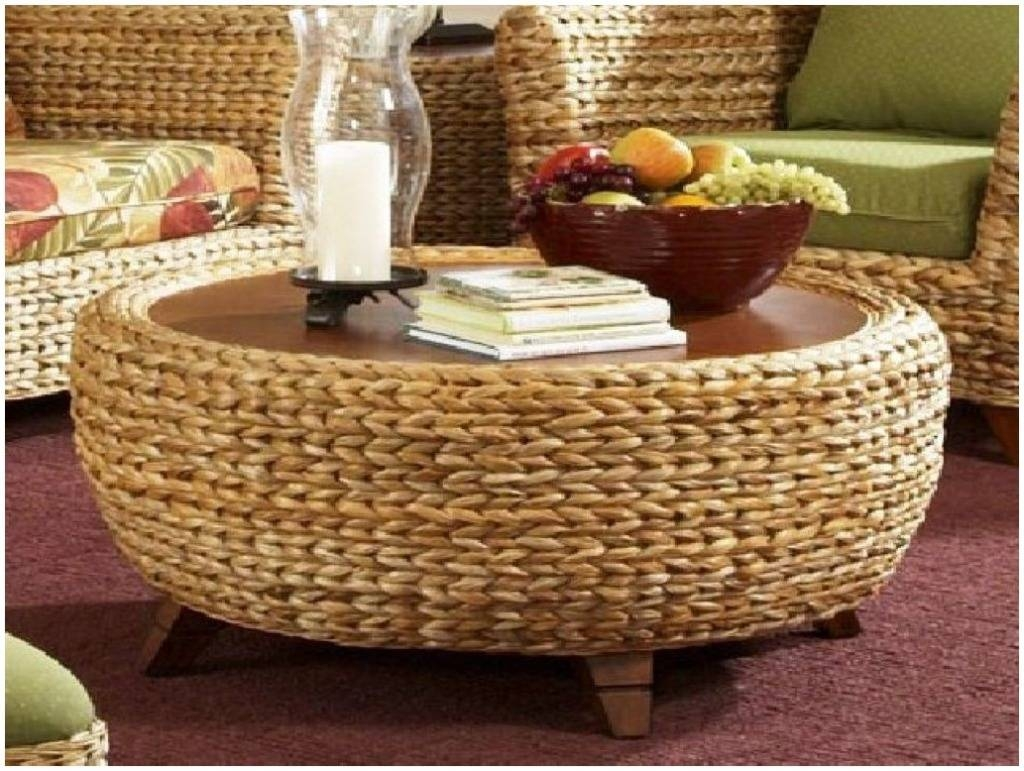 Woven Round Coffee Table - Starrkingschool within Round Woven Coffee Tables (Image 30 of 30)