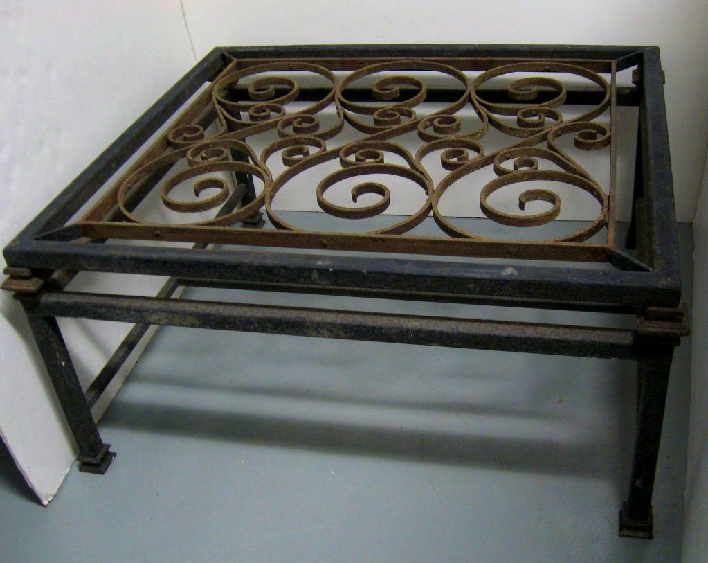Wrought Iron Coffee Table Bases Uk Tablehispurposeinme Wrought within Wrought Iron Coffee Tables (Image 22 of 30)