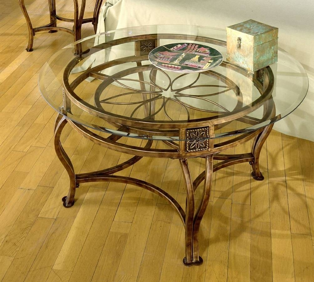 Wrought Iron Coffee Table pertaining to Wrought Iron Coffee Tables (Image 23 of 30)