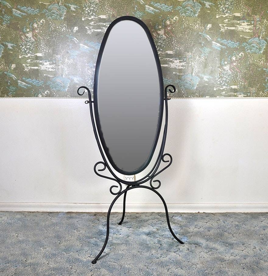 Wrought Iron Standing Mirror 53 Inspiring Style For Adjust This with Wrought Iron Standing Mirrors (Image 20 of 25)