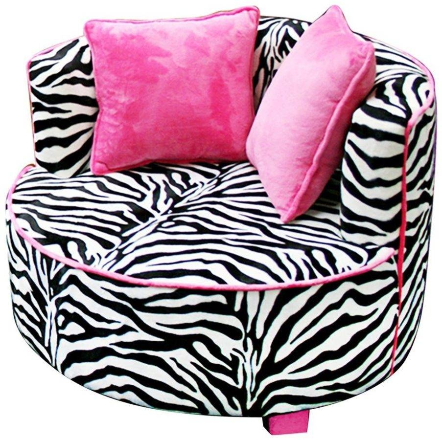 Zebra Accent Chair. Chairs U0026 Accent Chairs Wicker Upholstered throughout Kids Sofa Chair and Ottoman Set Zebra (Image 29 of 30)