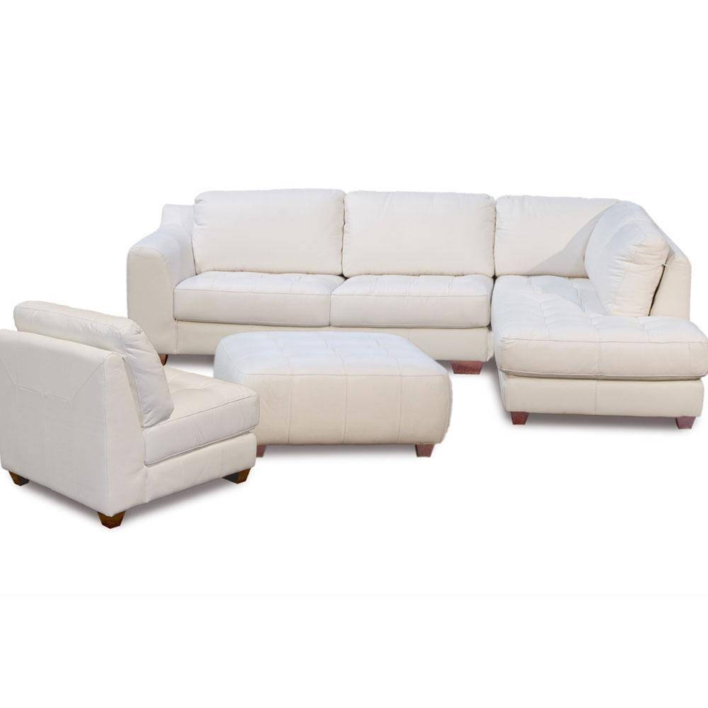 Zen Collection Right Facing Chaise Sectional Armless Chair And intended for Armless Sectional Sofas (Image 30 of 30)