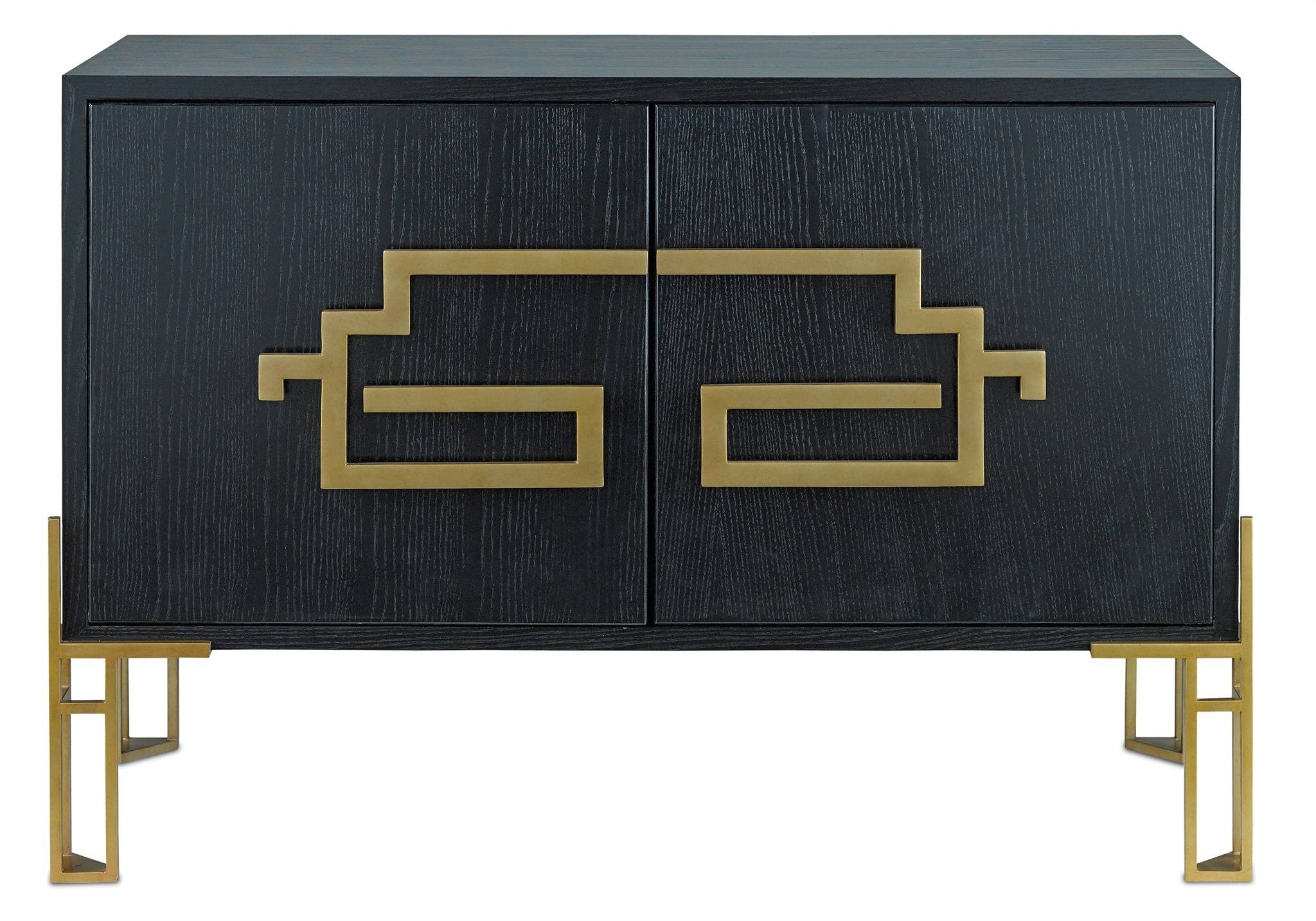 Zhin Ii Sideboard | Currey & Company with Chinoiserie Sideboards (Image 30 of 30)