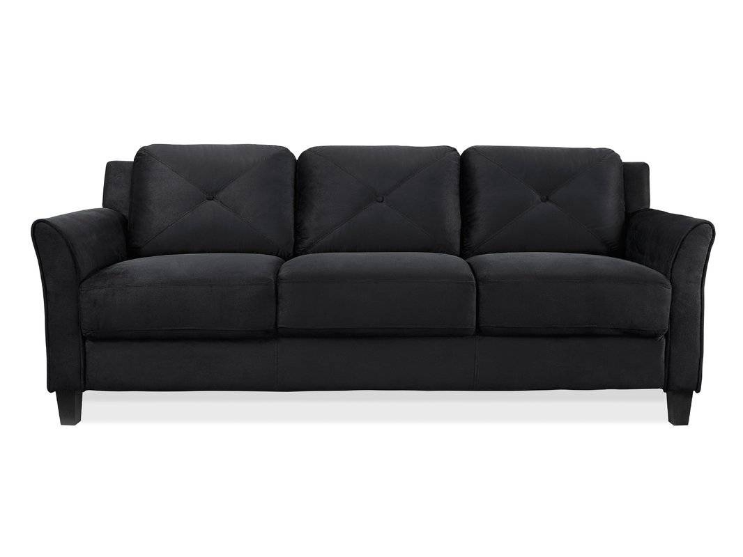 Zipcode Design Ibiza Sofa & Reviews | Wayfair with Black And White Sofas (Image 26 of 30)