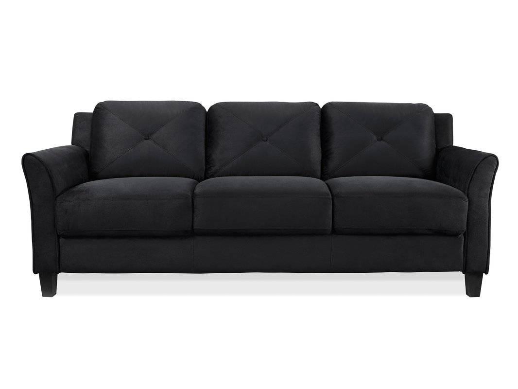 Zipcode Design Ibiza Sofa & Reviews | Wayfair with Black And White Sofas (Image 26 of 30)