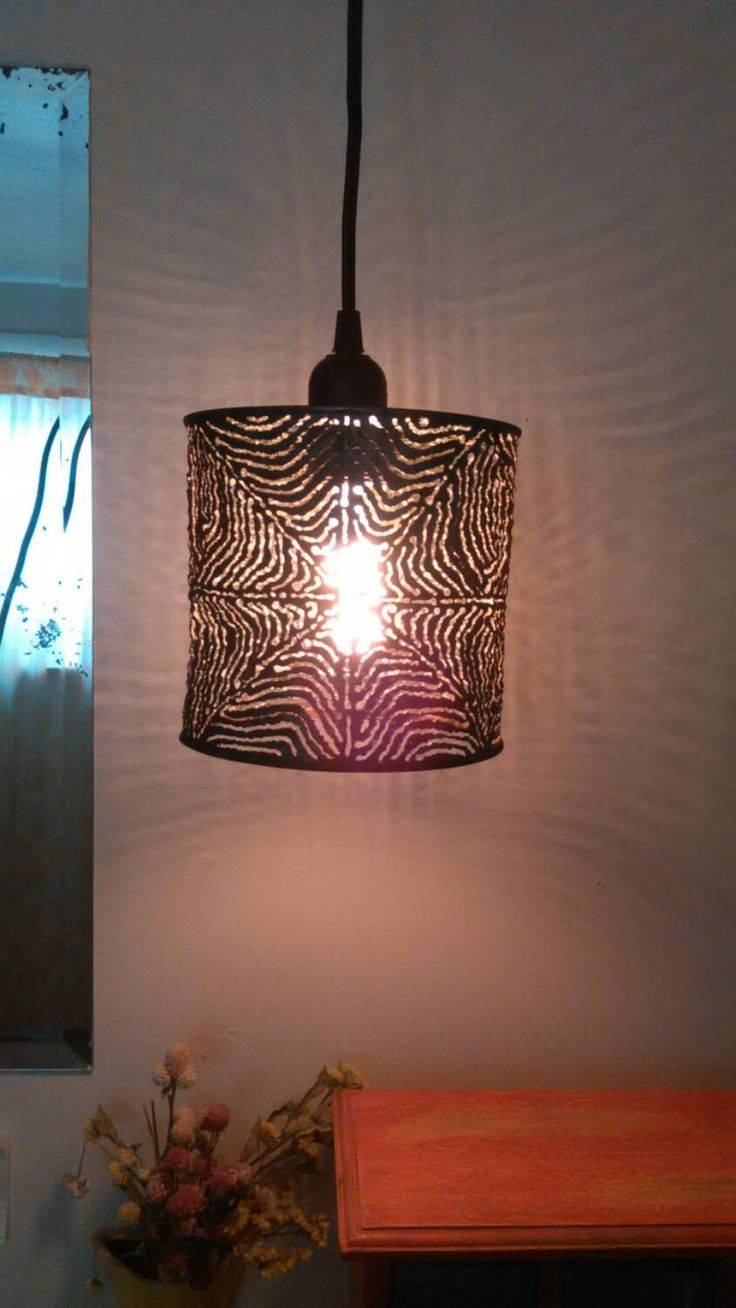 101 Best Lighting Images On Pinterest | Tin Cans, Edison Bulbs And for Tin Pendant Lights (Image 1 of 15)