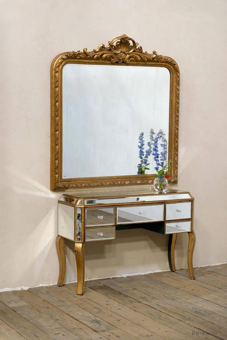 110 Best What Is The Style - French Rococo Mirrors Images On for Gold French Mirrors (Image 1 of 15)