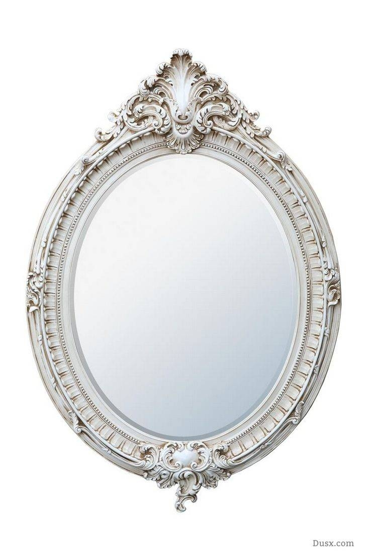 110 Best What Is The Style - French Rococo Mirrors Images On in Antique White Oval Mirrors (Image 1 of 15)
