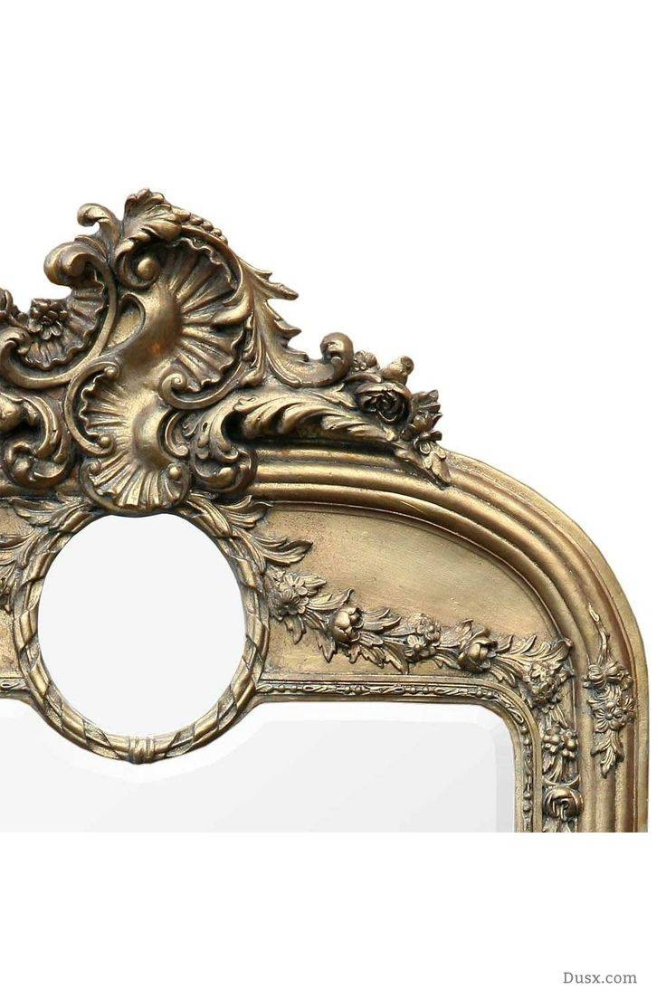 110 Best What Is The Style - French Rococo Mirrors Images On with Gold French Mirrors (Image 2 of 15)
