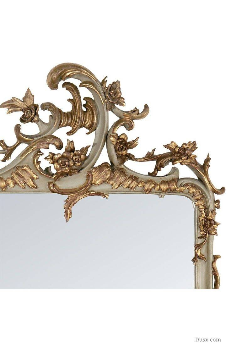 110 Best What Is The Style - French Rococo Mirrors Images On with regard to Gold French Mirrors (Image 3 of 15)