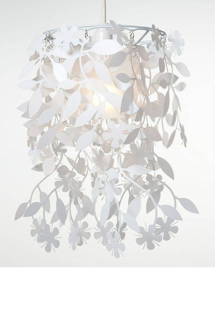 117 Best Diy Light Shade Images On Pinterest | Lighting Ideas in White Flower Pendant Lights (Image 1 of 15)