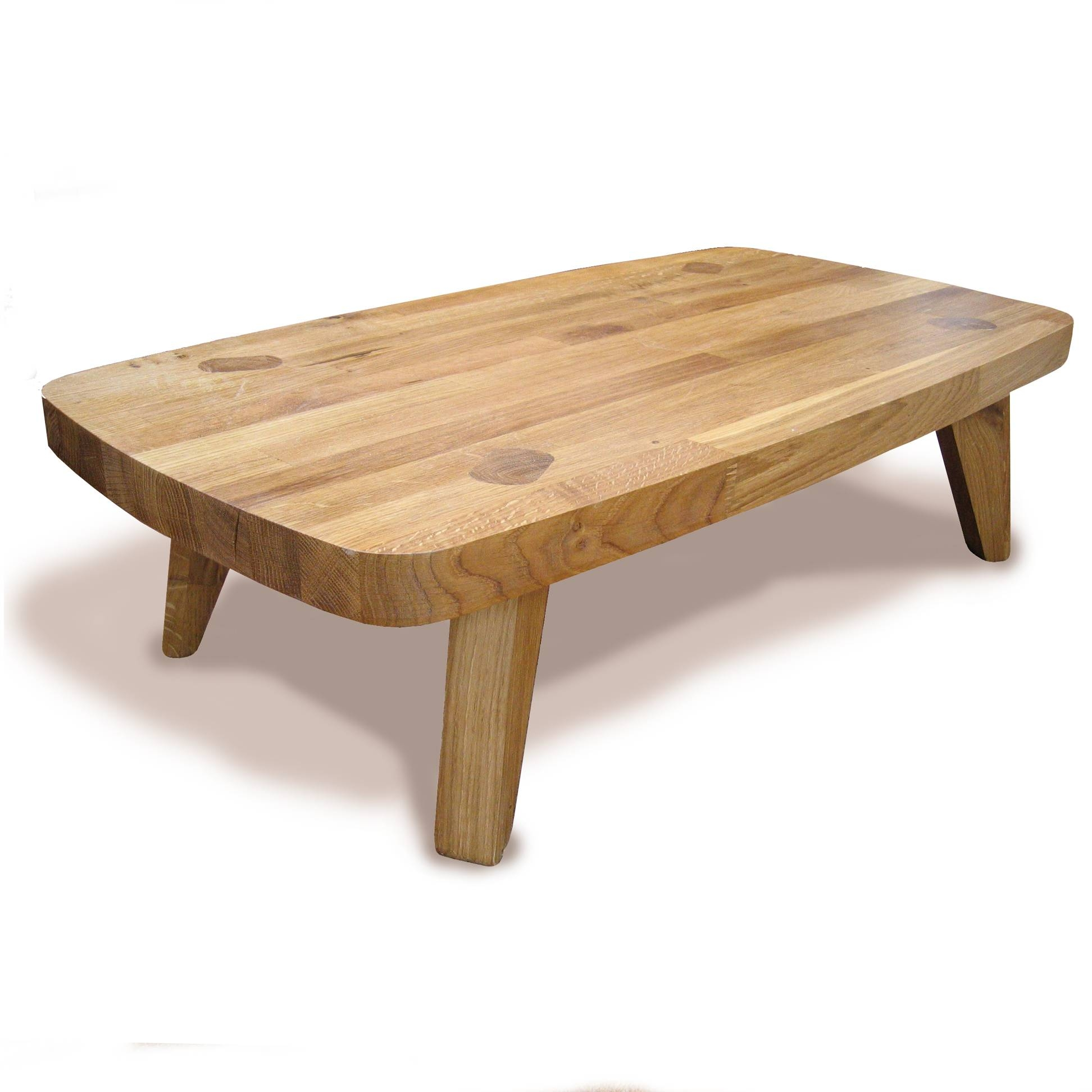 15 Ideas of Oak Wood Coffee Tables
