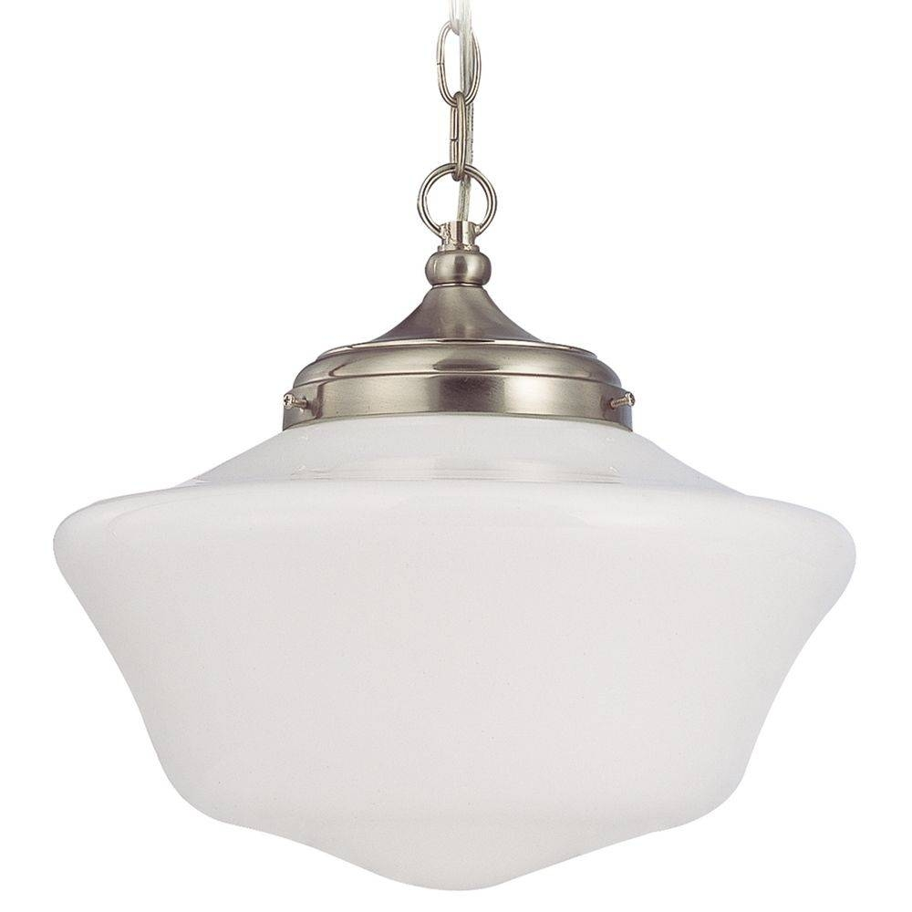 16-Inch Bronze Schoolhouse Pendant Light | Fa6-220 / Ga16 regarding Schoolhouse Pendant Lights Fixtures (Image 1 of 15)