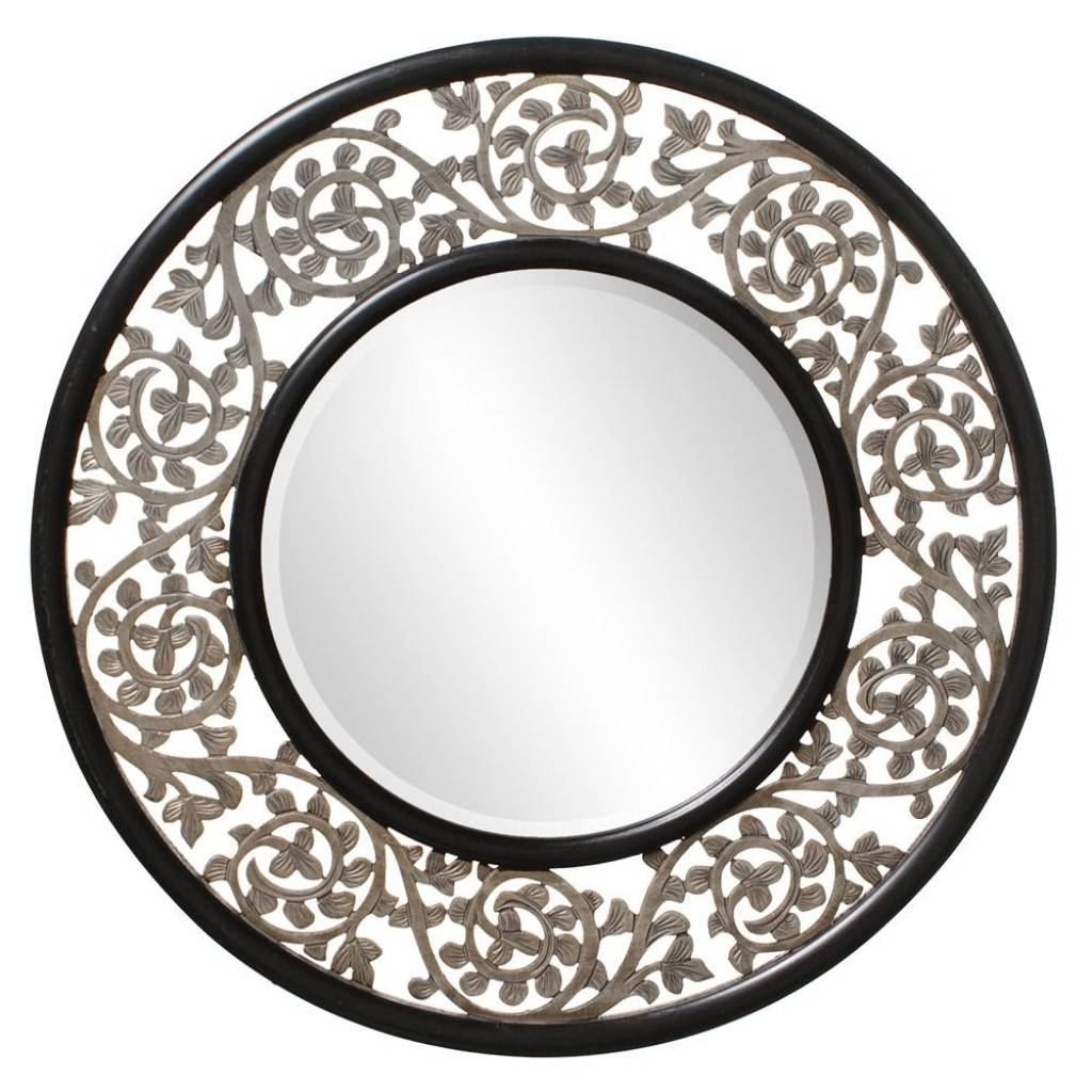 16 Ornate Mirrors For Your Home | Qosy inside Ornate Black Mirrors (Image 1 of 15)