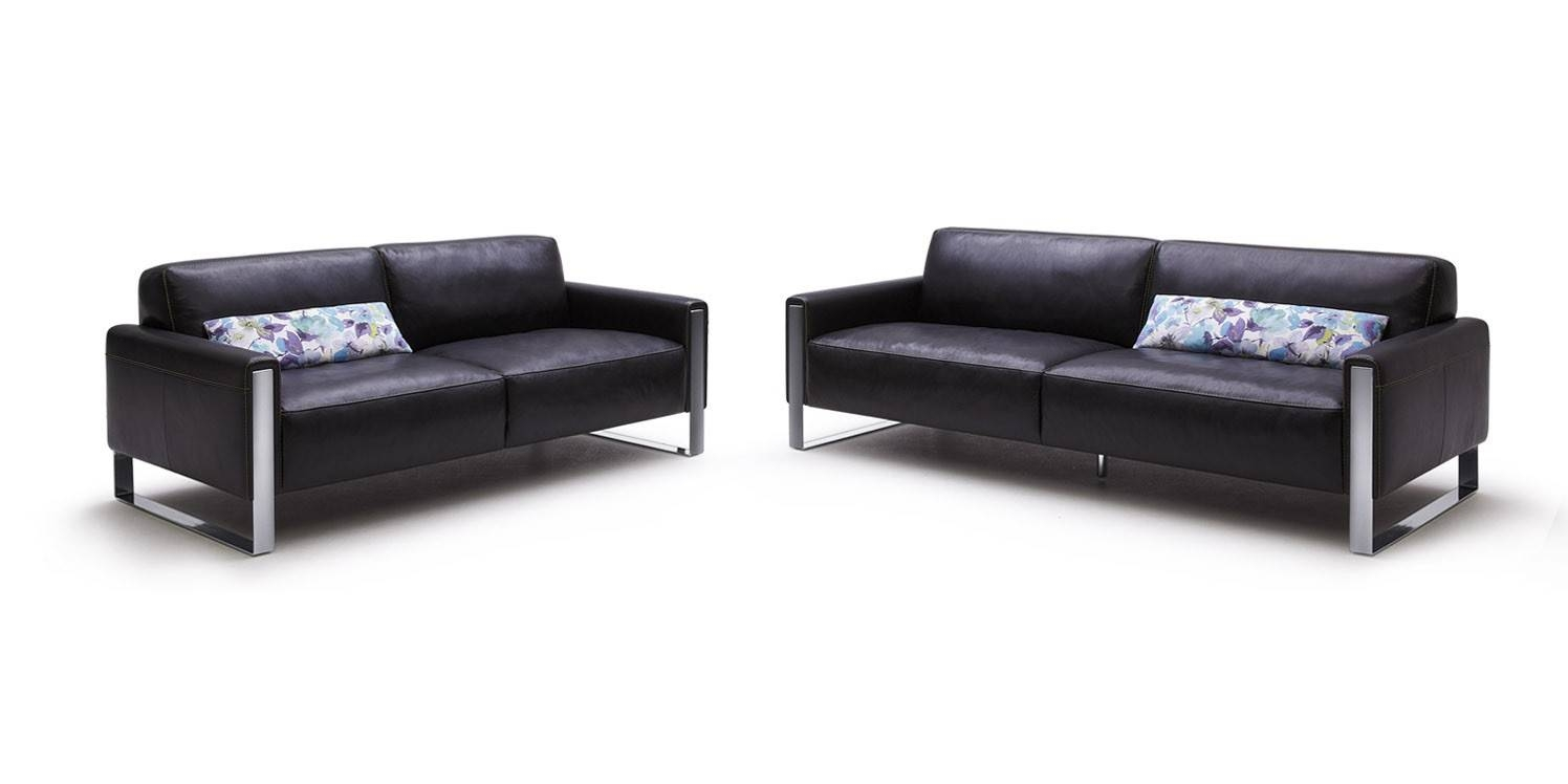 17 Black Modern Leather Sofa | Carehouse throughout Black Modern Couches (Image 1 of 15)