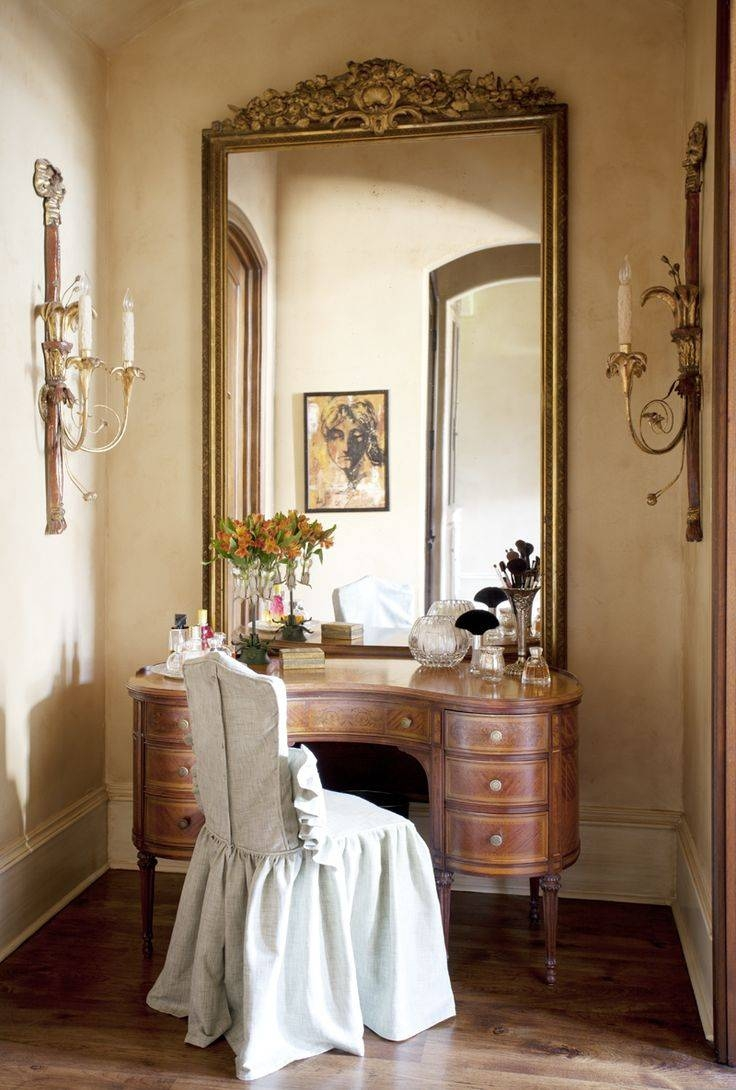 188 Best Dressing Tables Images On Pinterest | Vanity Tables In Gold Dressing Table Mirrors (View 1 of 15)