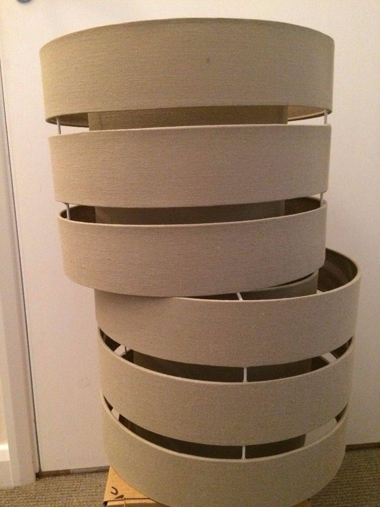 2 John Lewis Light Shades | In Wimbledon, London | Gumtree pertaining to John Lewis Lights Shades (Image 1 of 15)
