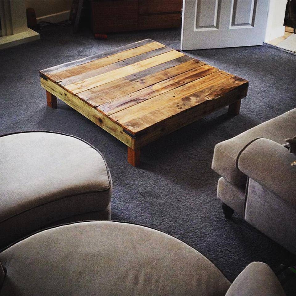 20 Diy Pallet Coffee Table Ideas For Short Coffee Tables (View 1 of 15)