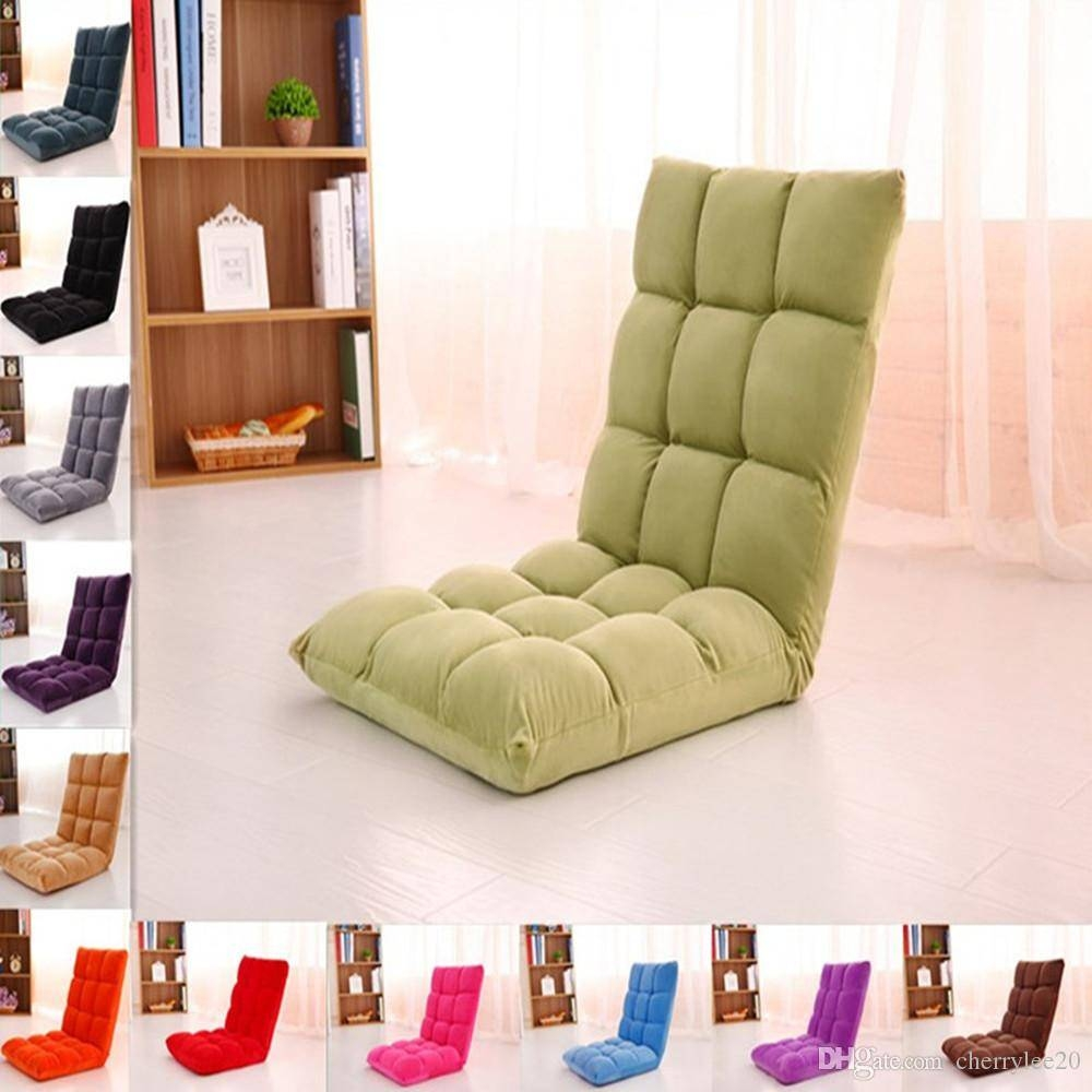 2017 Lazy Sofa Floor Cushion Sofa Chair Folding Beach Chair Gaming with regard to Lazy Sofa Chairs (Image 3 of 15)
