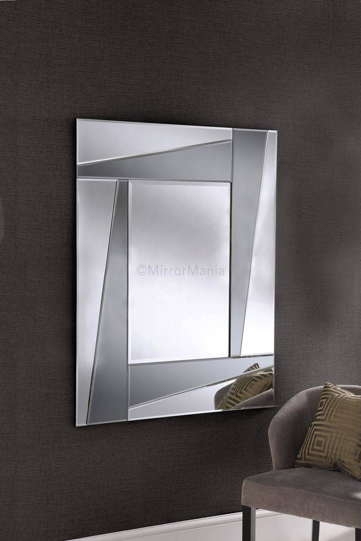 225 Best Rectangle Mirrors Images On Pinterest | Art Deco Mirror with regard to Modern Bevelled Mirrors (Image 2 of 15)