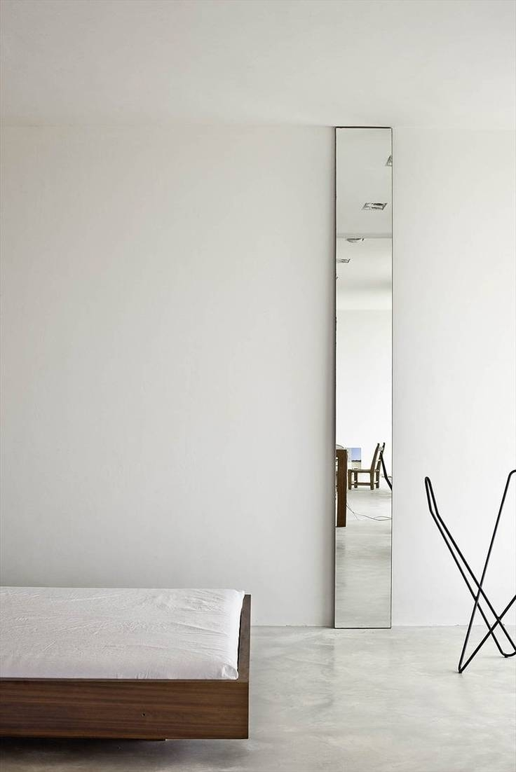 23 Best Bedroom Images On Pinterest | Architecture, Home And Bedrooms with regard to Tall Narrow Mirrors (Image 1 of 15)