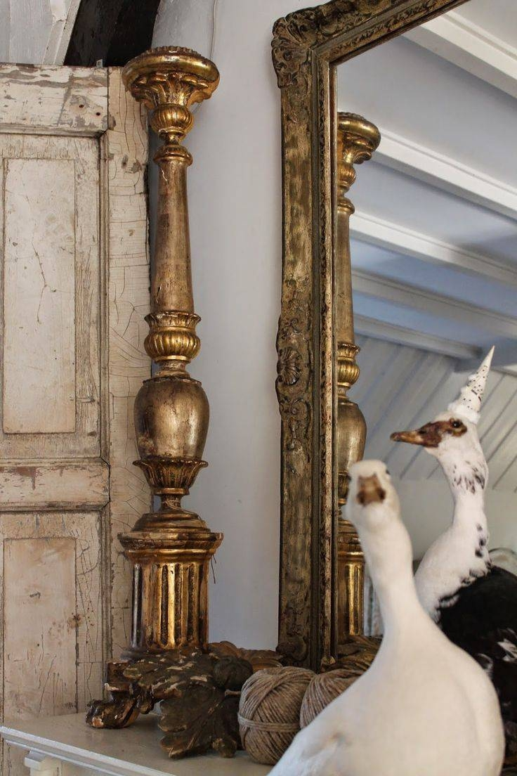 237 Best French Church Candlesticks/candelabra's Images On for French Vintage Mirrors (Image 1 of 15)