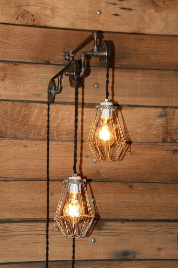 Top 15 Of Pulley Pendant Light Fixtures