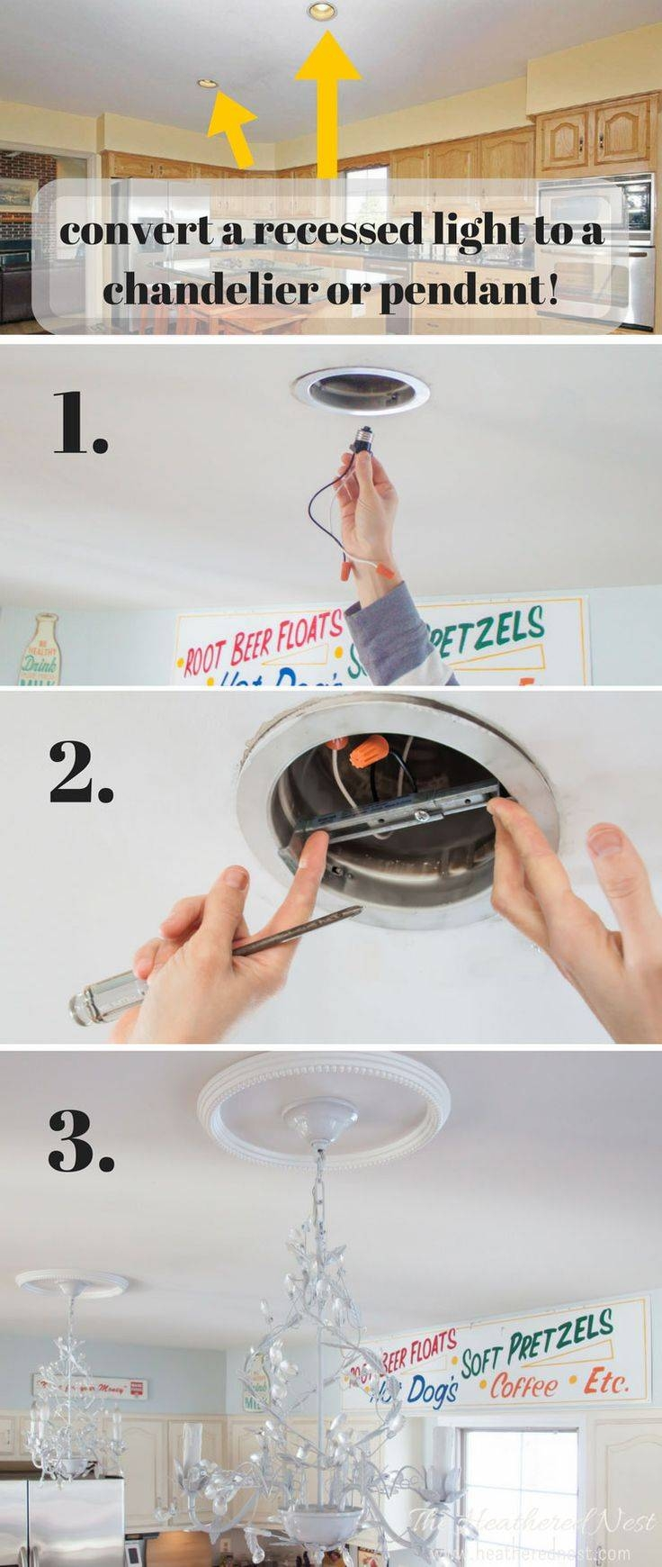 25+ Best Recessed Can Lights Ideas On Pinterest | Led Can Lights in Easy Lite Pendant Lighting (Image 1 of 15)