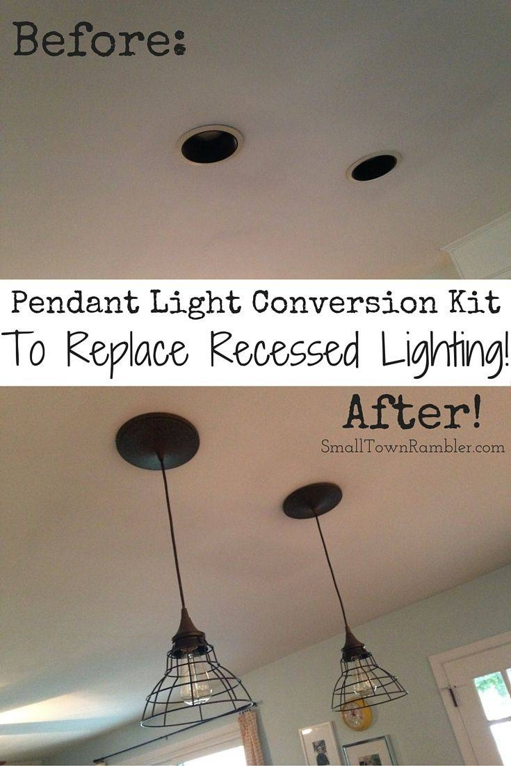25+ Best Recessed Can Lights Ideas On Pinterest | Led Can Lights inside Can Lights To Pendant Lights (Image 1 of 15)