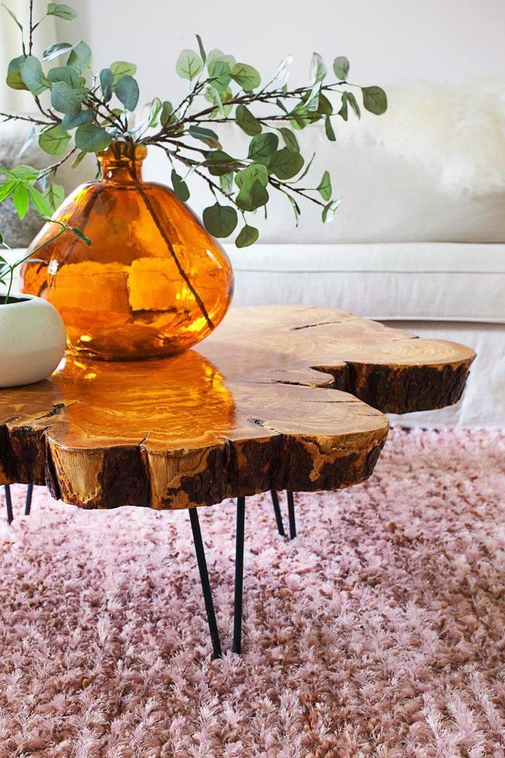 25+ Best Tree Trunk Coffee Table Ideas On Pinterest | Tree Stump throughout Tree Trunk Coffee Table (Image 2 of 15)