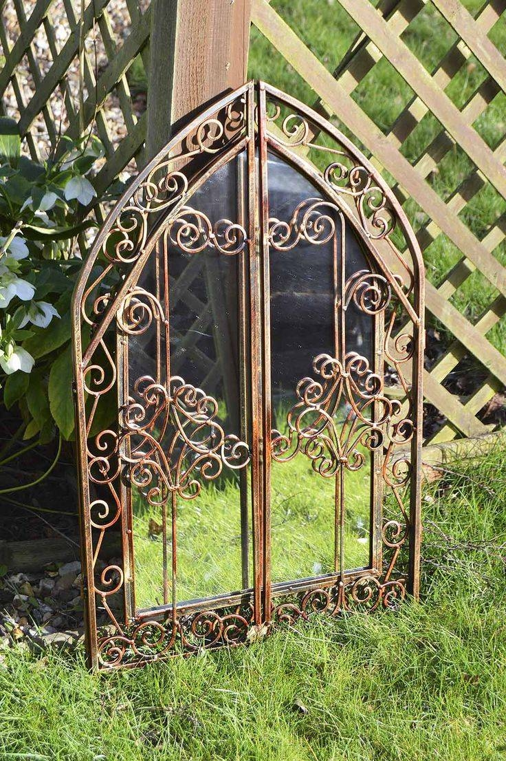 26 Best Garden Mirrors Images On Pinterest | Garden Mirrors, Wall in Metal Garden Mirrors (Image 1 of 15)