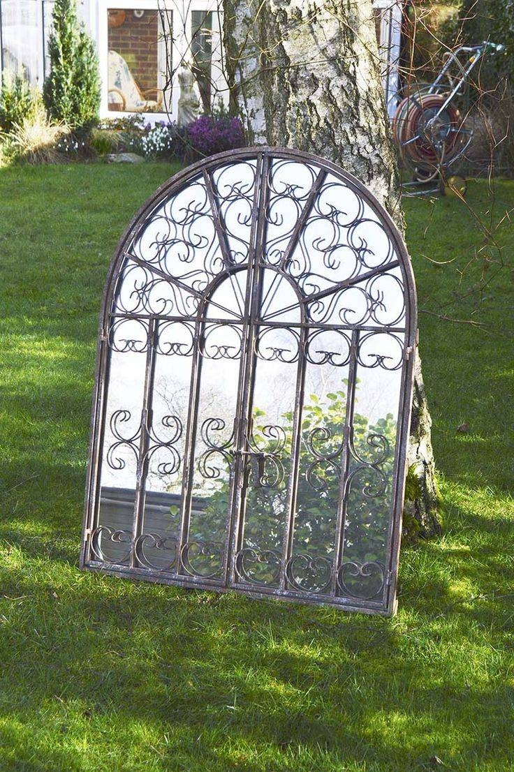 26 Best Garden Mirrors Images On Pinterest | Garden Mirrors, Wall with Large Garden Mirrors (Image 1 of 15)