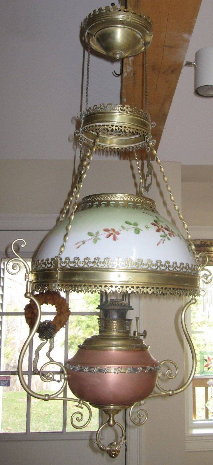 261 Best Antique / Vintage Lamps Images On Pinterest | Vintage inside Edwardian Lamp Pendant Lights (Image 1 of 15)
