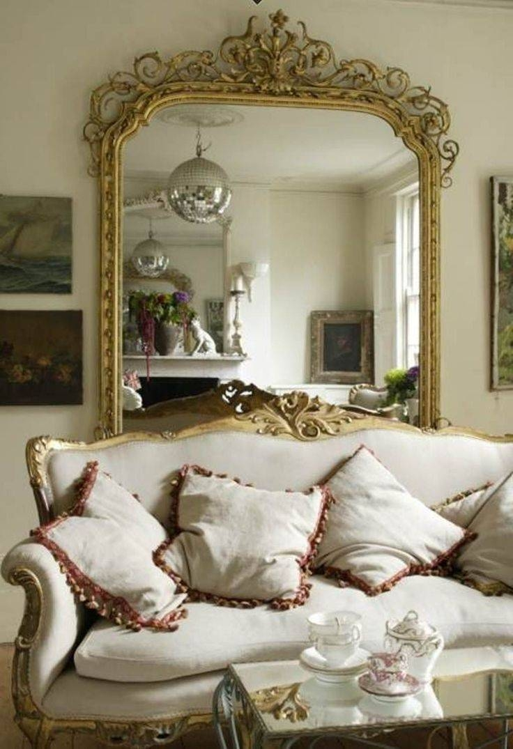 264 Best Mirrors Images On Pinterest | Mirror Mirror, Antique in Pretty Mirrors for Walls (Image 2 of 15)