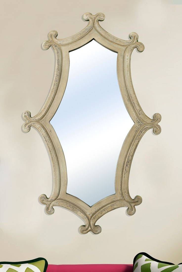 27 Best Decorative Mirrors Images On Pinterest | Decorative within Cream Mirrors (Image 1 of 15)