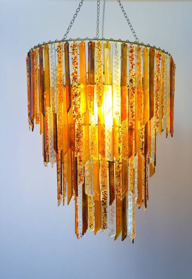28 Best Products - Chandeliers Images On Pinterest | Recycled pertaining to Recycled Glass Pendants (Image 1 of 15)