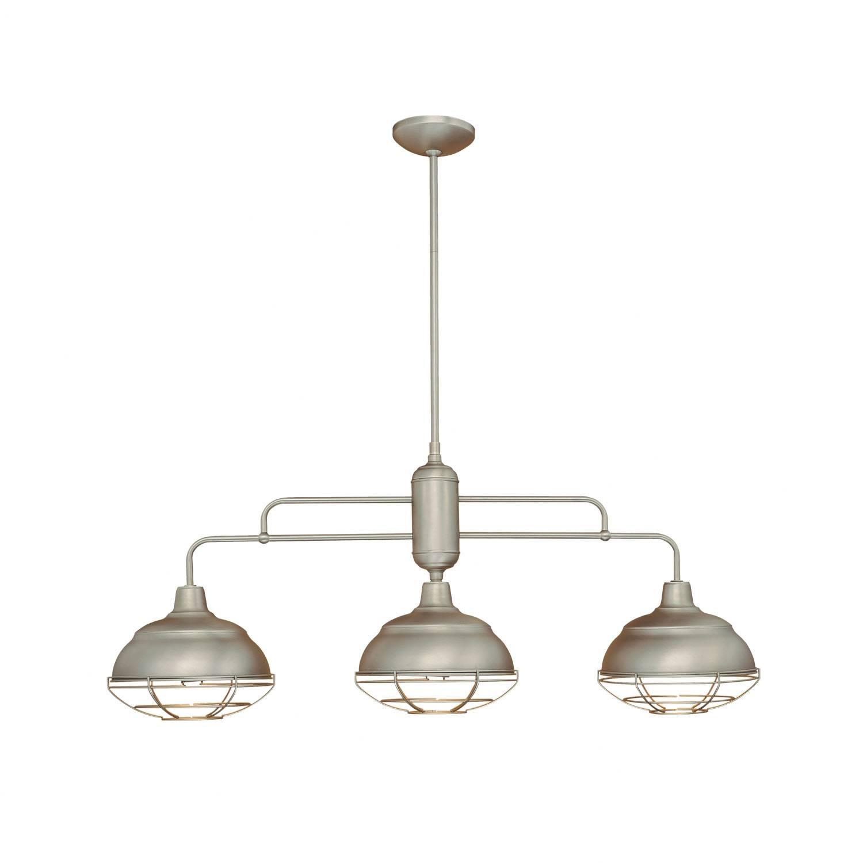 3 Light Kitchen Island Pendant ~ Picgit Regarding Triple Pendant Kitchen Lights (Photo 1 of 15)