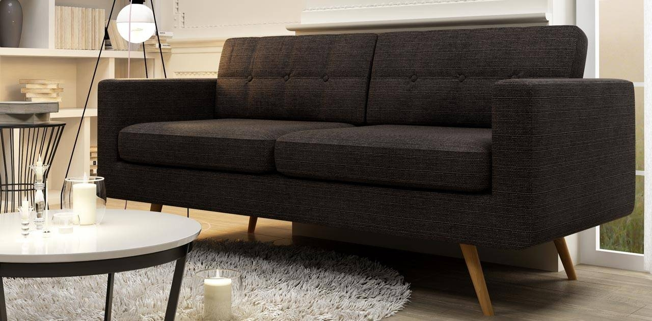 3 Seater Retro Sofa inside Retro Sofas and Chairs (Image 1 of 15)