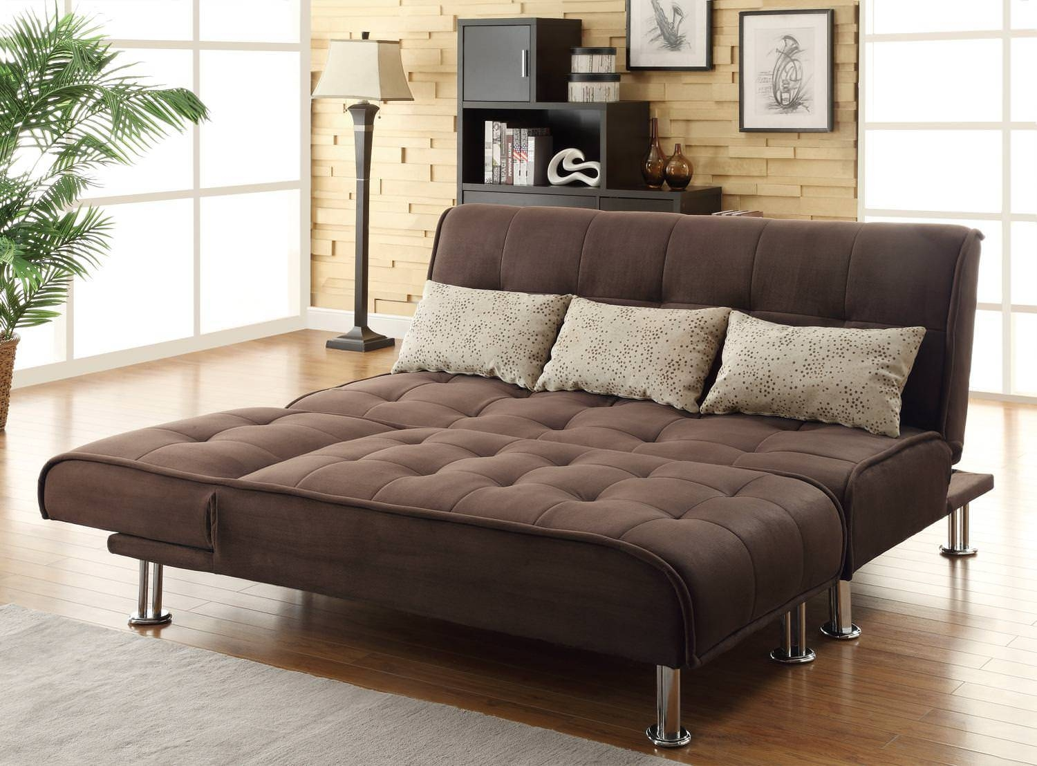 300276 Sofa Bed Browncoaster With Coaster Futon Sofa Beds (Photo 1 of 15)
