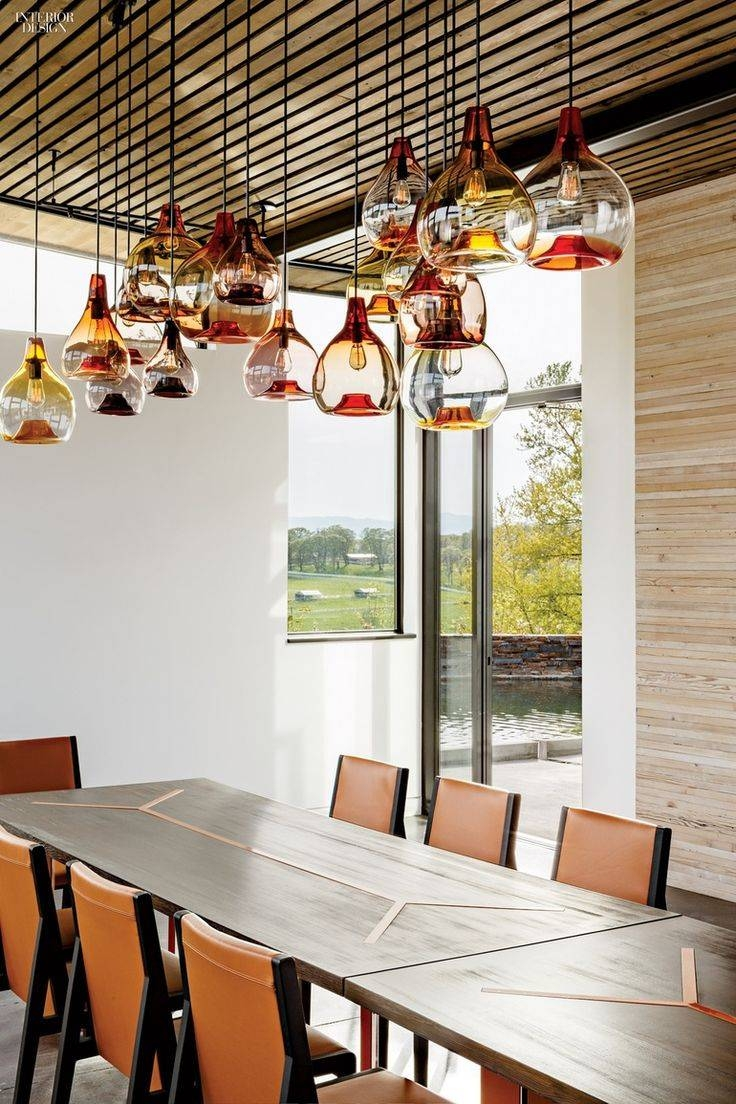 305 Best Light Images On Pinterest | Lighting Design, Lighting Throughout Paxton Glass 8 Light Pendants (Photo 14 of 15)