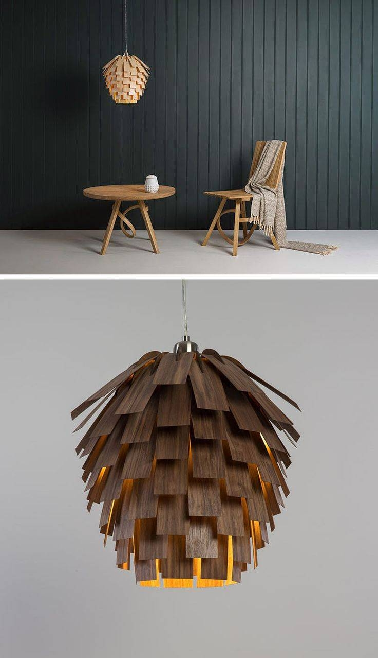 306 Best Lighting For Bars And Restaurants Images On Pinterest Inside Wood Veneer Lighting Pendants (Photo 9 of 15)