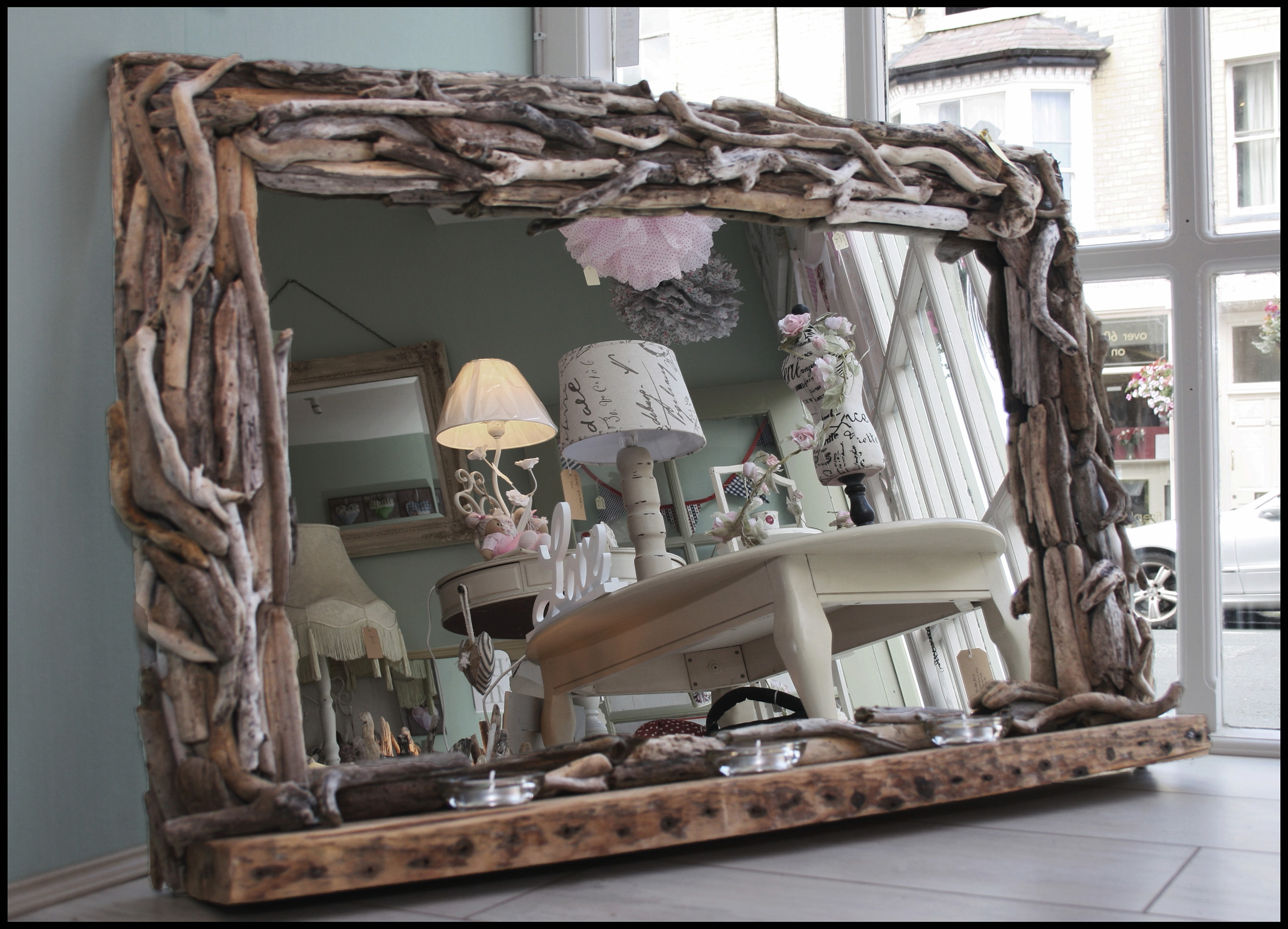 31 Naturally Beautiful Driftwood Mirrors With Regard To Very Large Mirrors (Photo 9 of 15)
