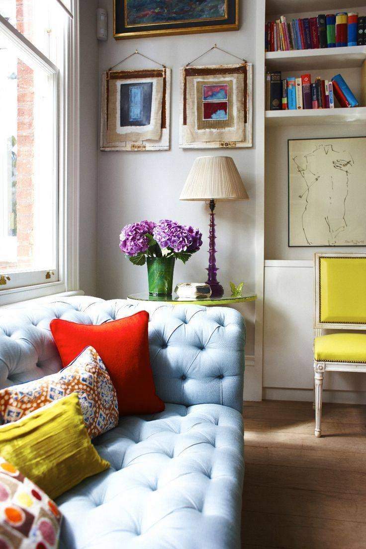 35 Best Velvet Images On Pinterest | Home, Velvet Chairs And Cushions For Colorful Sofas And Chairs (View 4 of 15)