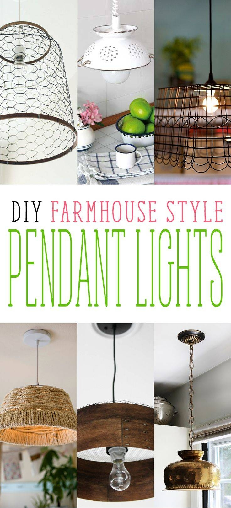 373 Best Lighting Images On Pinterest | Lighting Ideas, Crafts And with Cottage Style Pendant Lights (Image 1 of 15)